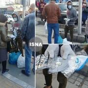 تصایر تلخ | فروش ماسک در خیابان | قیمتهای آقای دستفروش در بحران کرونا