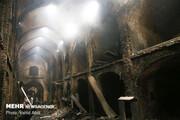 ۴۰ واحد تجاری در بازار بابل در آتش سوخت | مصدومیت ۴ آتشنشان