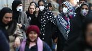 نقشه پراکندگی مبتلایان به کرونا در ایران