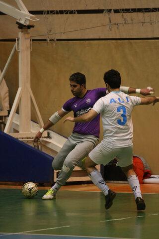 گزارش تصويري از مسابقات فوتسال جام سفير