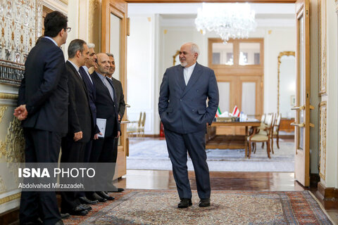 تصاویر دیدار وزیر خارجه اتریش با محمد جواد ظریف