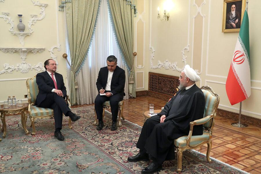 روحانی و وزیر خارجه اتریش