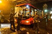 ضدعفونی کردن ناوگان اتوبوسرانی اصفهان