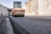 تصاویر   مراحل پایانی پروژه احداث زیرگذر کوی نصر