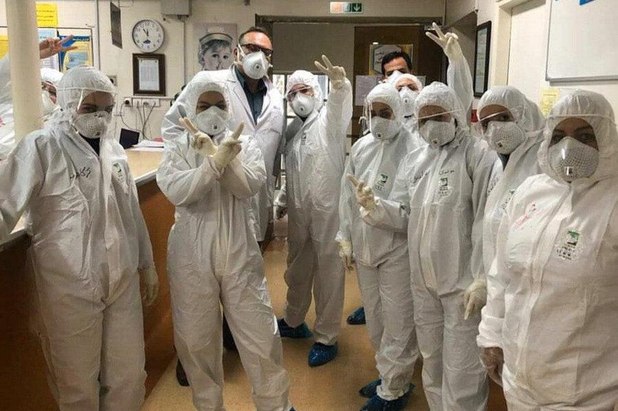 کادر پزشکی بیمارستان مسیح دانشوری