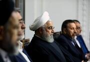 تصاویر | جلسه ستاد مدیریت ملی کرونا؛ از روحانی و ظریف تا حناچی و جهرمی