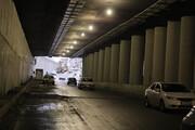 تصاویر   آغاز بهرهبرداری از زیرگذر کوی نصر