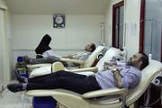 فیلم | آمادگی برای دریافت خون اهدایی در شرایط کرونایی