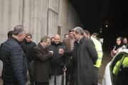 عکس | خداحافظی کرونایی پیروز حناچی | دست دادن جالب شهردار و استاندار