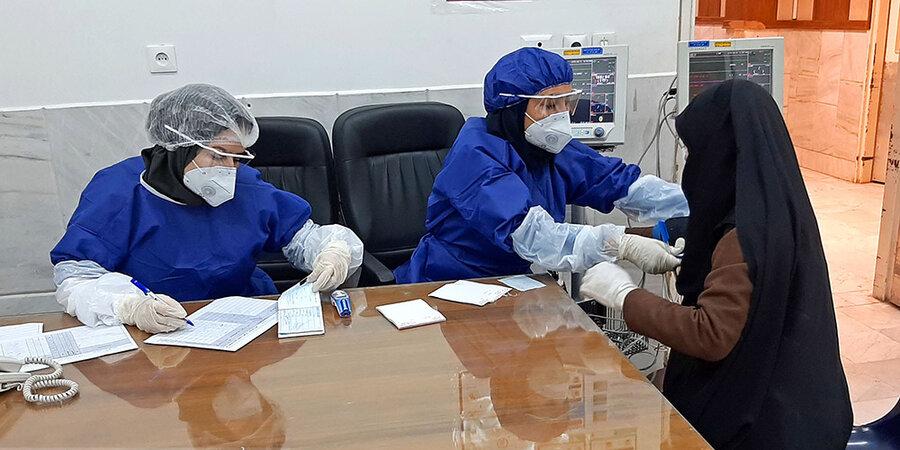 بیمارستان فرقانی قم - عکاس: محمد محسن زاده/ منبع: میزان