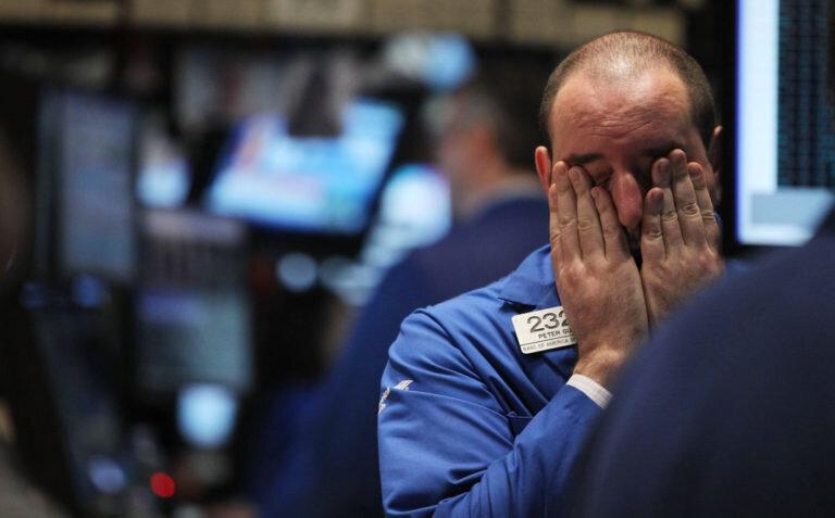 market plunges