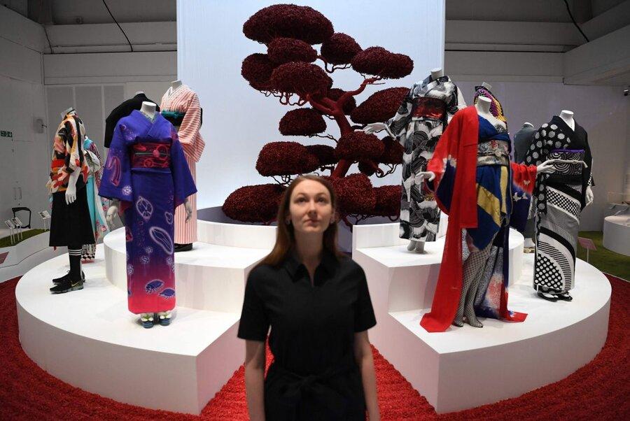 نمایشگاه «کیمونو؛ از کیوتو تا نمایش مد» - لندن
