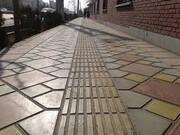 پایان عملیات مناسبسازی شش خیابان تهران برای معلولان | اجرای نهرهای سرپوشیدهبرای مناسبسازی معابر