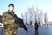 عکس روز | استقرار نیروهای نظامی ایتالیا برای حفاظت از قوانین قرنطینه کرونا
