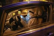 عکس روز | راننده داوطلب در کانون شیوع کورونا
