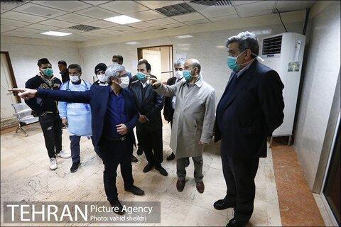 بازديد شهردار تهران از بيمارستان امام خميني