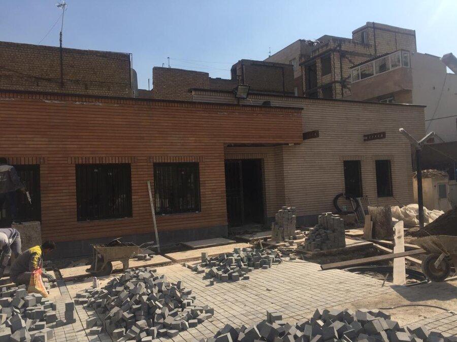پاتوق محله درخشان منطقه 15
