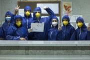 تصویر | چند نما از تلاش بیوقفه پرسنل بیمارستان صیاد شیرازی گرگان