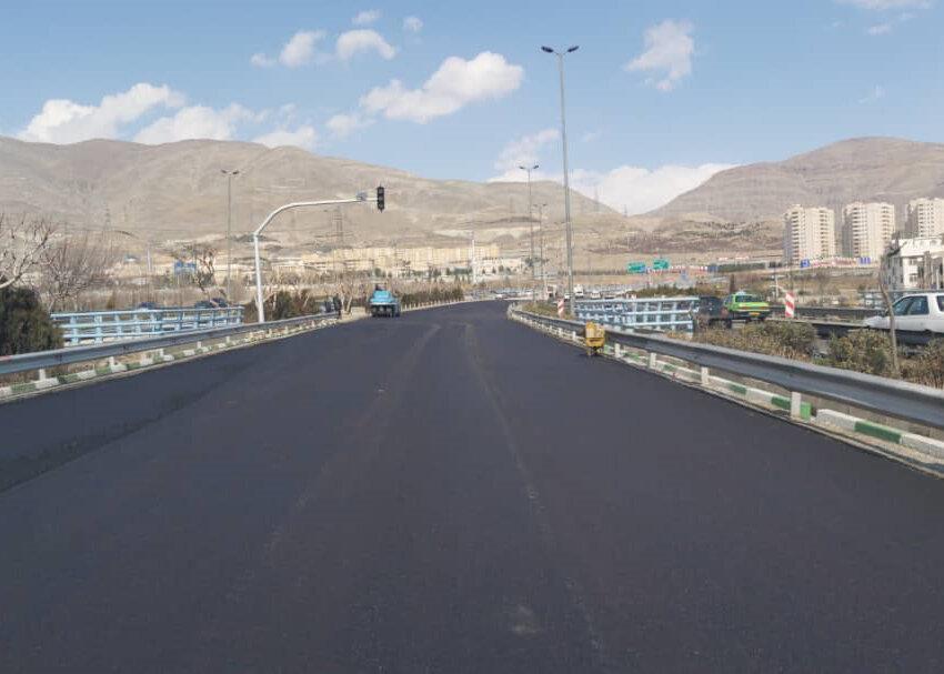 اتصال بزرگراه آزادگان به آزادراه تهران - شمال