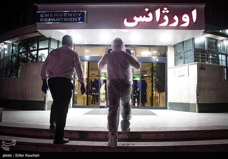 ورود نیروهای عملیات ویژه اورژانس برای انتقال بیماران مبتلا به کرونا