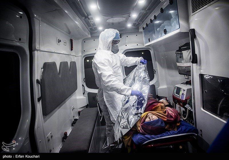 اقدامات اولیه نیروهای عملیات ویژه اورژانس برای بیمار مبتلا به کرونا
