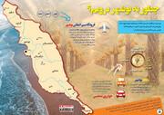 اینفوگرافی | چطور به بوشهر برویم؟