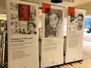تصاویر   رنج کودکان بیمار ایرانی در سازمان ملل متحد نمایش داده شد