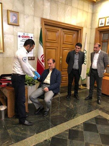 غربالگري مراجعین دفتر شهردار وشورای شهر تهران