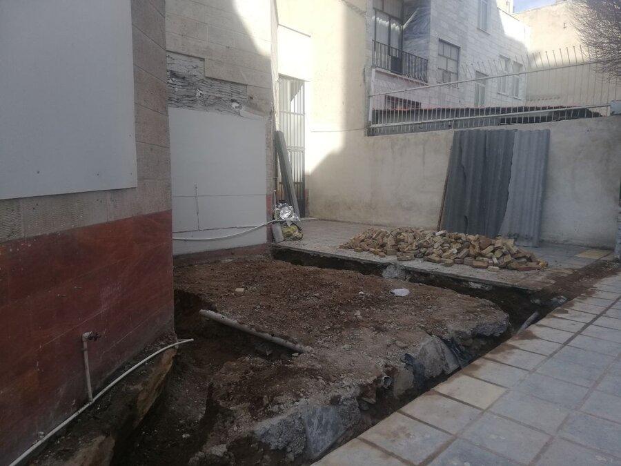 سرویس بهداشتی در بافت مسکونی