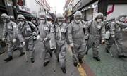 عکس روز| سربازان ضد کرونا در سئول