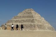عکس | وحشت از کرونا در قدیمیترین هرم مصر
