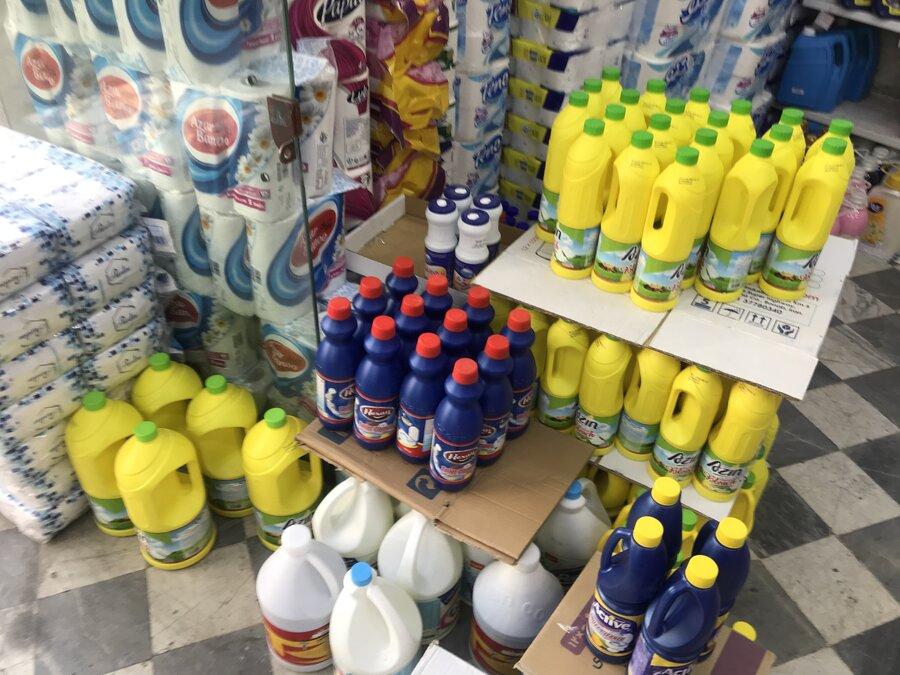 افزایش قیمت مواد شوینده و ضدعفونی کننده