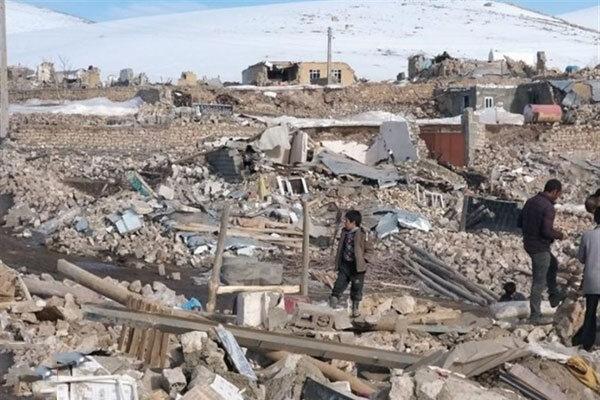 وضعیت مناطق زلزلهزده آذربایجانغربی