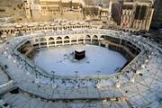فیلم | نحوه اقامه نماز جماعت در مسجدالحرام در بحران کرونا