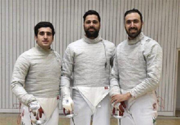 تیم شمشیربازی سابر ایران