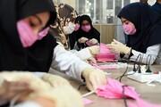 فعالیت کارگاه تولید ماسک در ۱۲ امامزاده مازندران