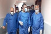 حضور میدانی استاندار کهگیلویه و بویراحمد در محل قرنطینه بیماران کرونایی