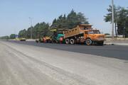 اجرای طرح ملی روکش آسفالت جادهها در همدان | تلاش ۱۸ اکیپ راهداری