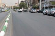 دو طرفه شدن خیابان سیمتری نیروی هوایی