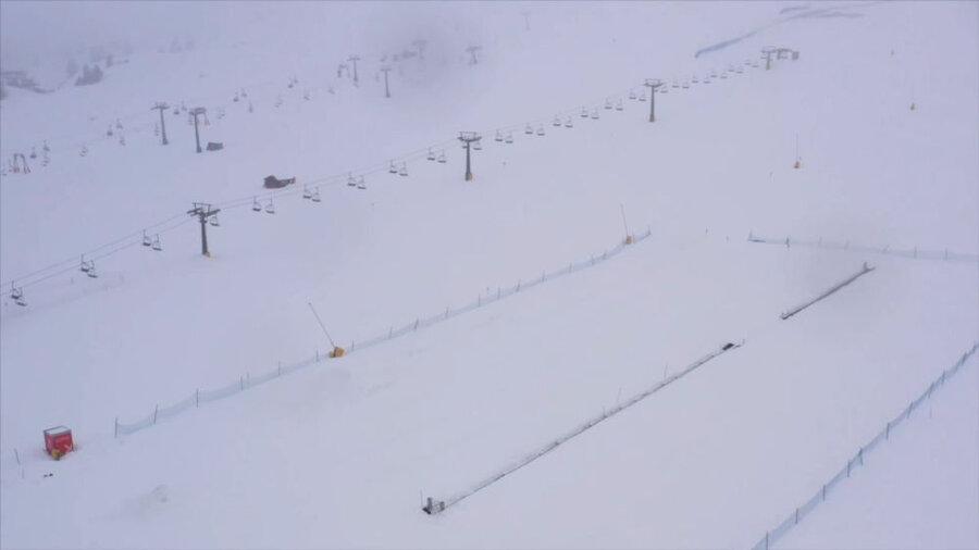 محل اسکی خالی در ایتالیا