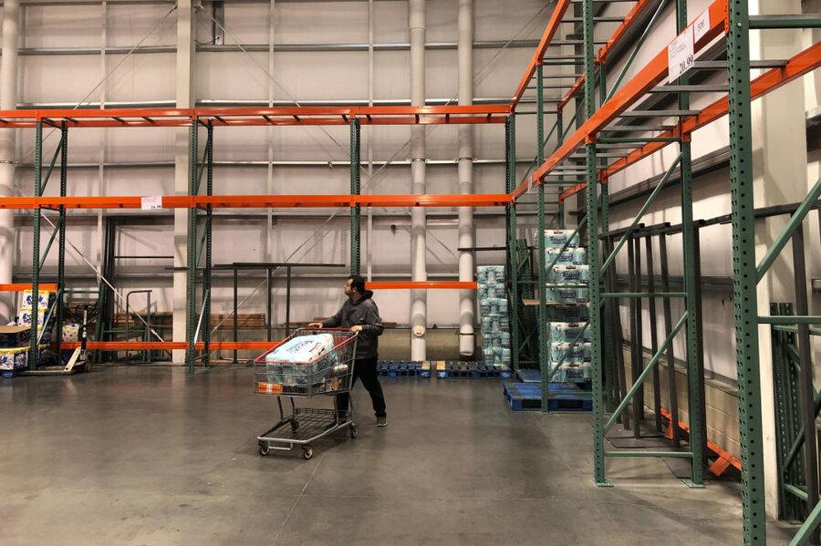 فروشگاه خالی در آمریکا
