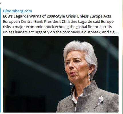 اروپا شوک اقتصادی