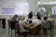 تصویر | تولید لباس بیمارستانی و ماسک پارچهای در گرگان