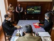 عکس | ارتشیها با ماسک | جلسه اضطراری فرمانده کل ارتش با فرماندهان نیروهای چهارگانه