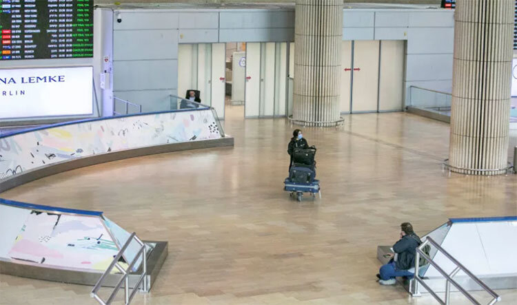 كرونا در اسرائيل فرودگاه بن گوريون