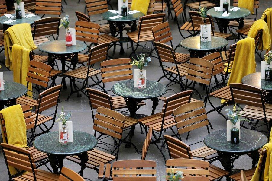 رستورانی در لندن