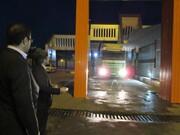 کامیونهای ورودی از جمهوری آذربایجان به کشور ضدعفونی میشود