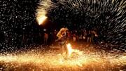 مصدوم شدن ۱۱ آذربایجانی با مواد محترقه