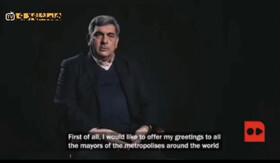 فیلم | پیام حناچی به شهرداران کلانشهرهای جهان