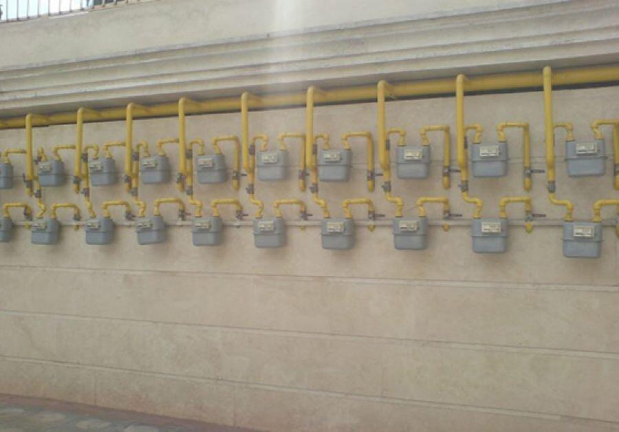 گاز خانگی - کنتور